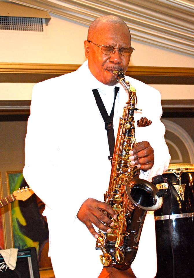 Duane Parham on Sax
