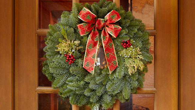 Christmas Sherwood wreath