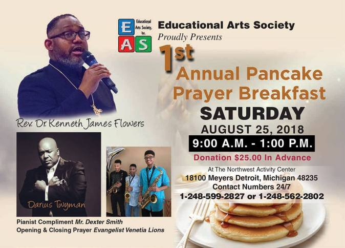 1st Annual Pancake Prayer Breakfast